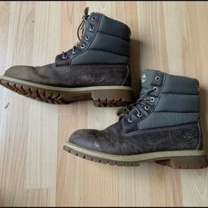 Timberland Winter boots size 7 youth or 8.5 women